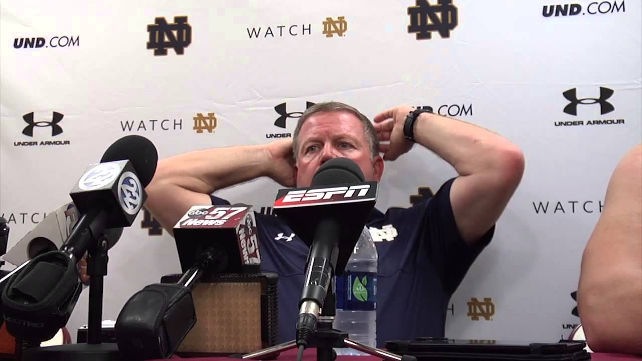 Coach Kelly FSU Post Game Presser
