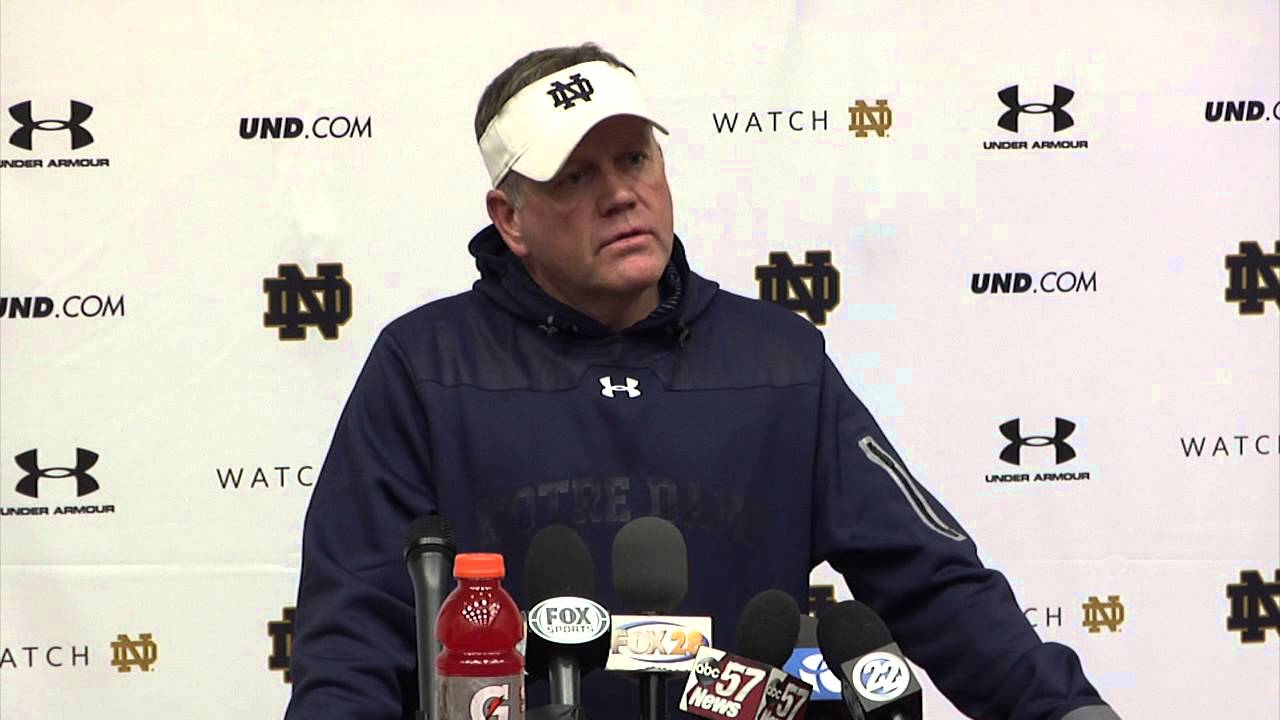 Coach Kelly Thursday Media Session - Florida State