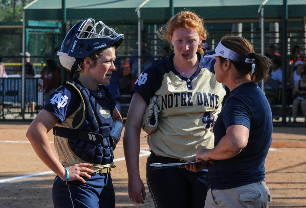 Notre Dame head coach Deanna Gumpf, her coaching staff and selected Irish players will lead the day's instruction at the 2015 Irish Softball Clinic on Jan. 17
