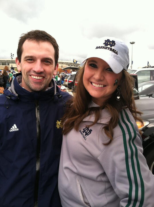 In support of women's basketball operations specialist Katie Schwab, who remains hospitalized following complications from her Type I diabetes, the Notre Dame women's basketball team will hold its first Diabetes Awareness Day on Sunday, Nov. 23, when the Fighting Irish play host to Holy Cross at 5 p.m. (ET) at Purcell Pavilion.