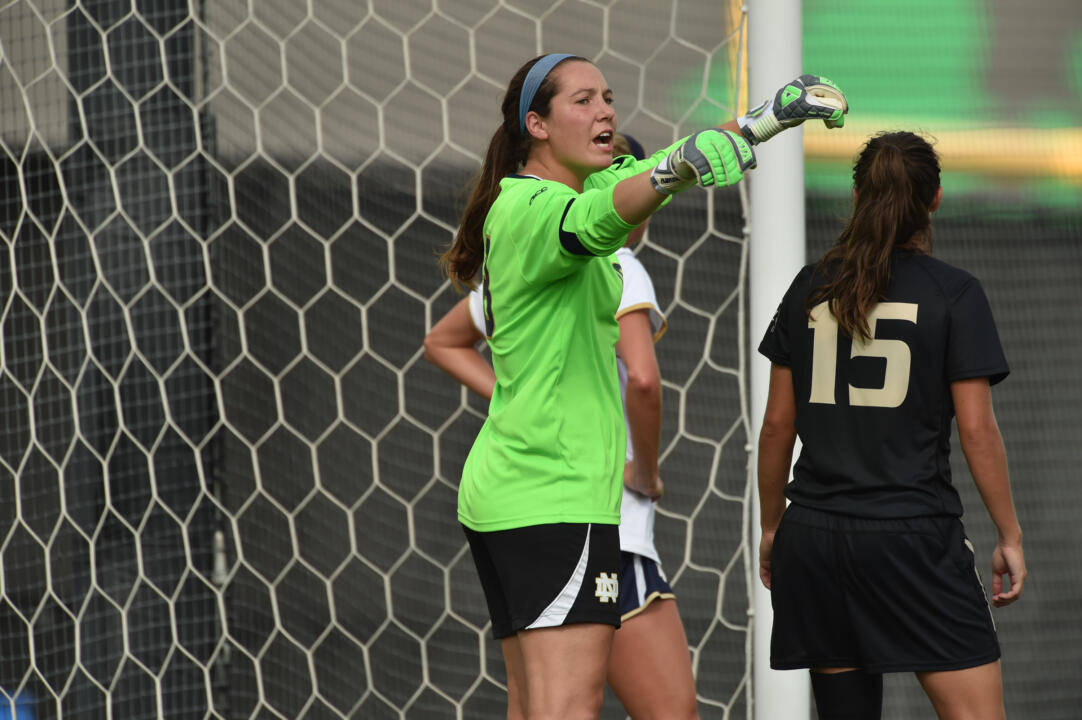 Sophomore goalkeeper Kaela Little