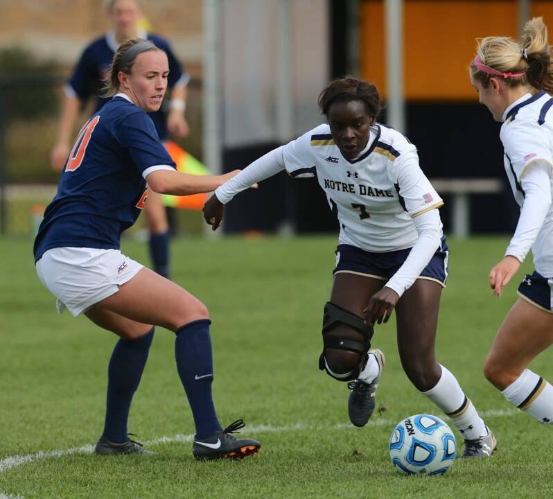 Freshman forward Karin Muya picked up her second straight NCAA Championship goal in Sunday's heartbreaking defeat to Texas A&M