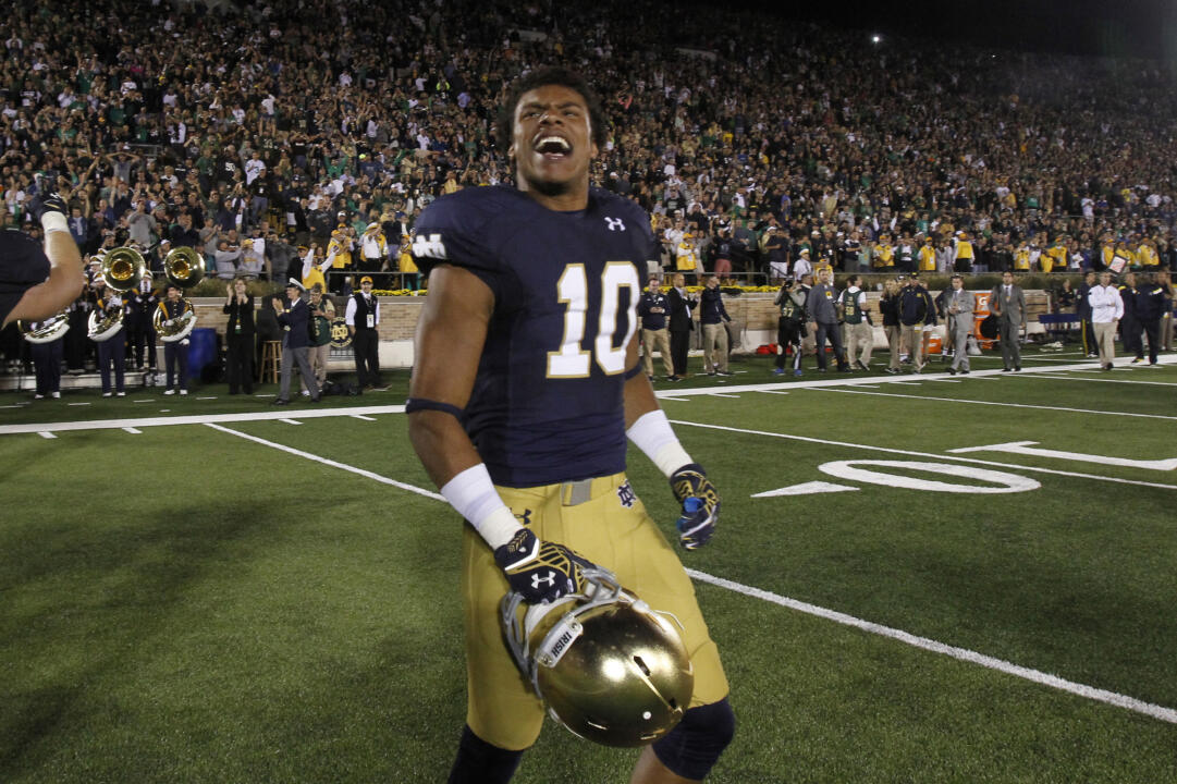 Notre Dame Sophomore Safety Max Redfield