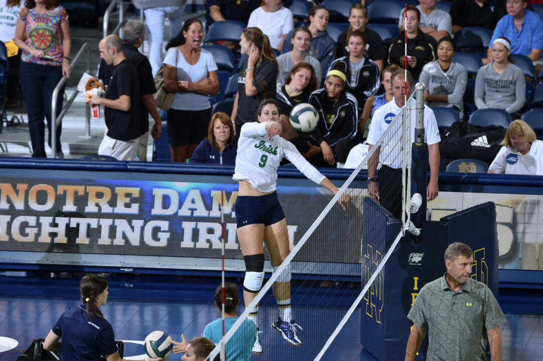 Grad student Nicole Smith will play her final match in a Notre Dame uniform at 4 p.m. Friday against Pitt.