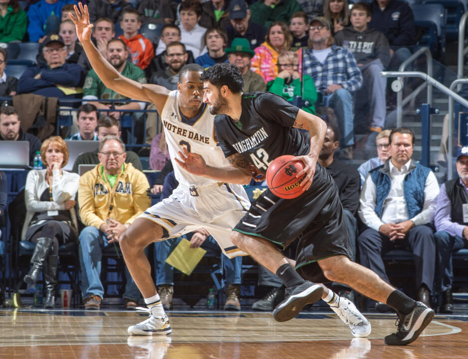V.J. Beachem is averaging 11.7 points in Notre Dame's first three games.