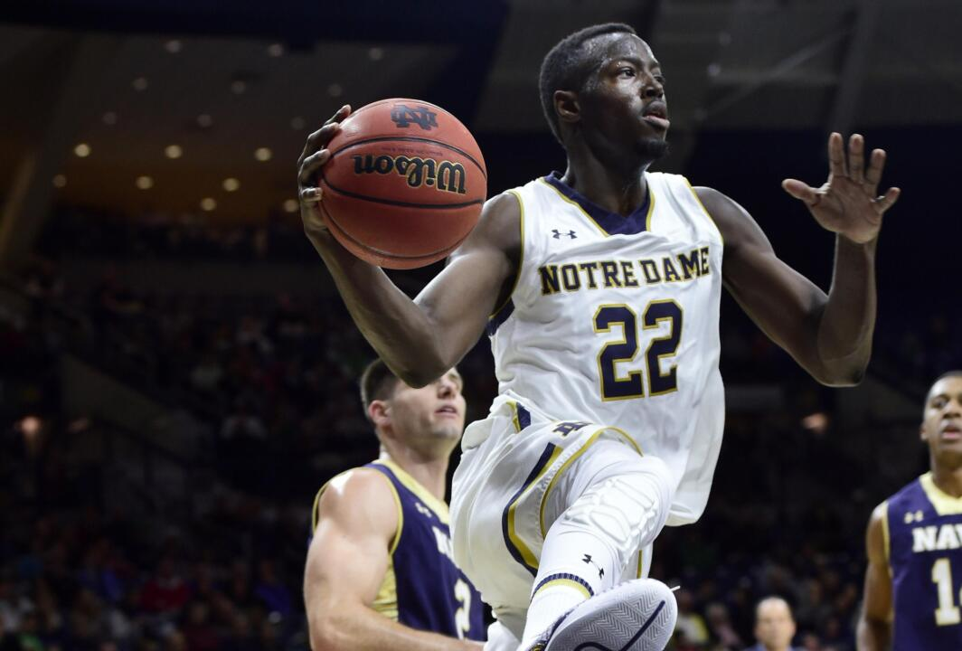 Jerian Grant led the Fighting Irish with 22 points on Sunday afternoon.