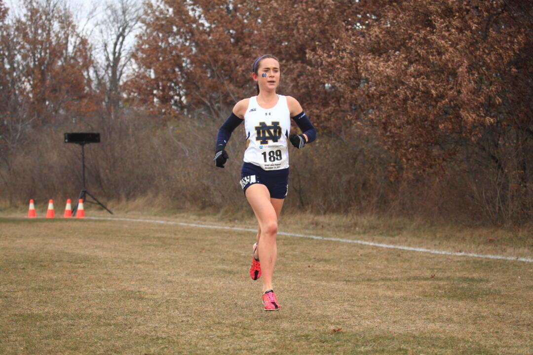 Junior Molly Seidel is looking to become the first Irish All-American woman since Lindsey Ferguson in 2009.