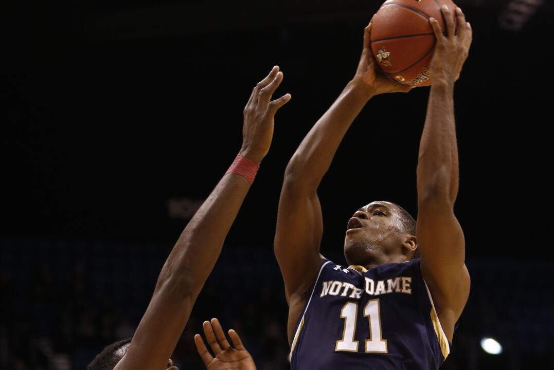 Guard Demetrius Jackson (11) led the Fighting Irish with five steals.