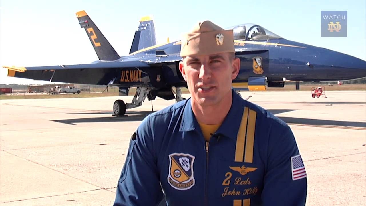 Strong and True - John Hiltz, Blue Angel And Notre Dame Man