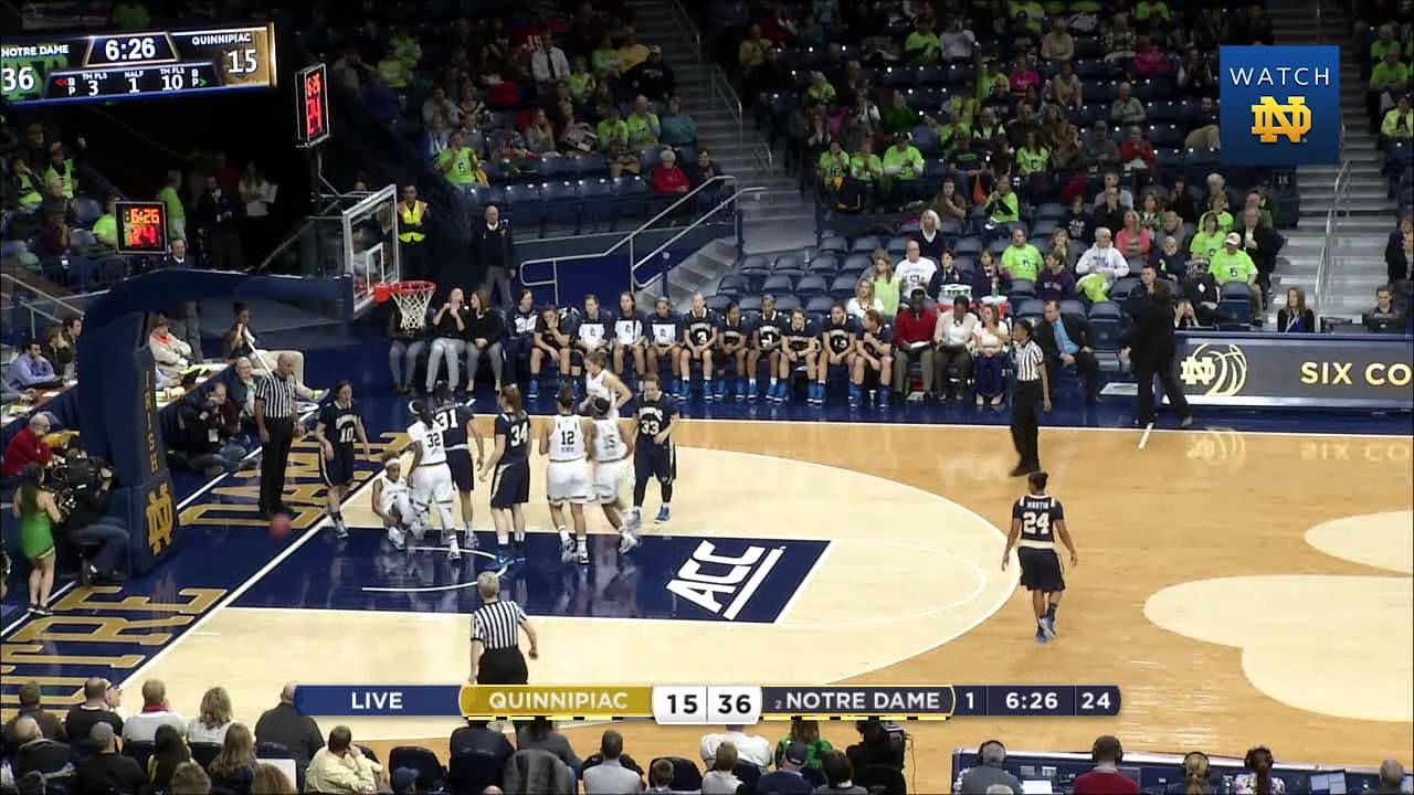 WBB vs. Quinnipiac Highlights