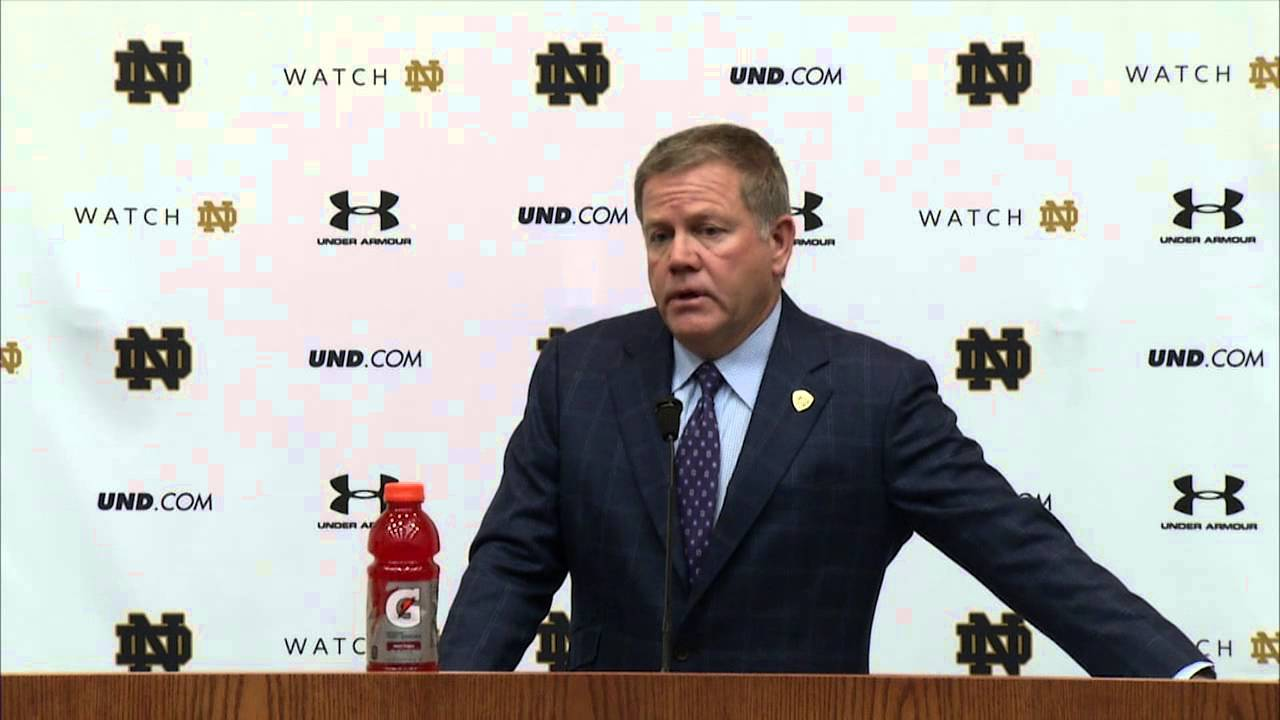 Coach Kelly ASU Preview Press Conference
