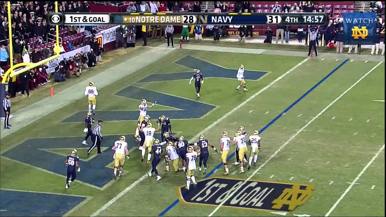 FB vs. Navy Highlights