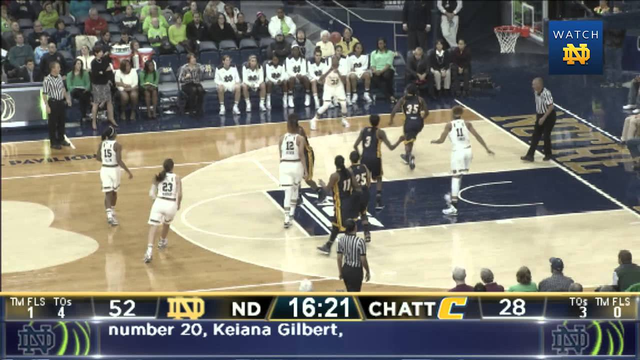 WBB vs. UT-Chattanooga Highlights