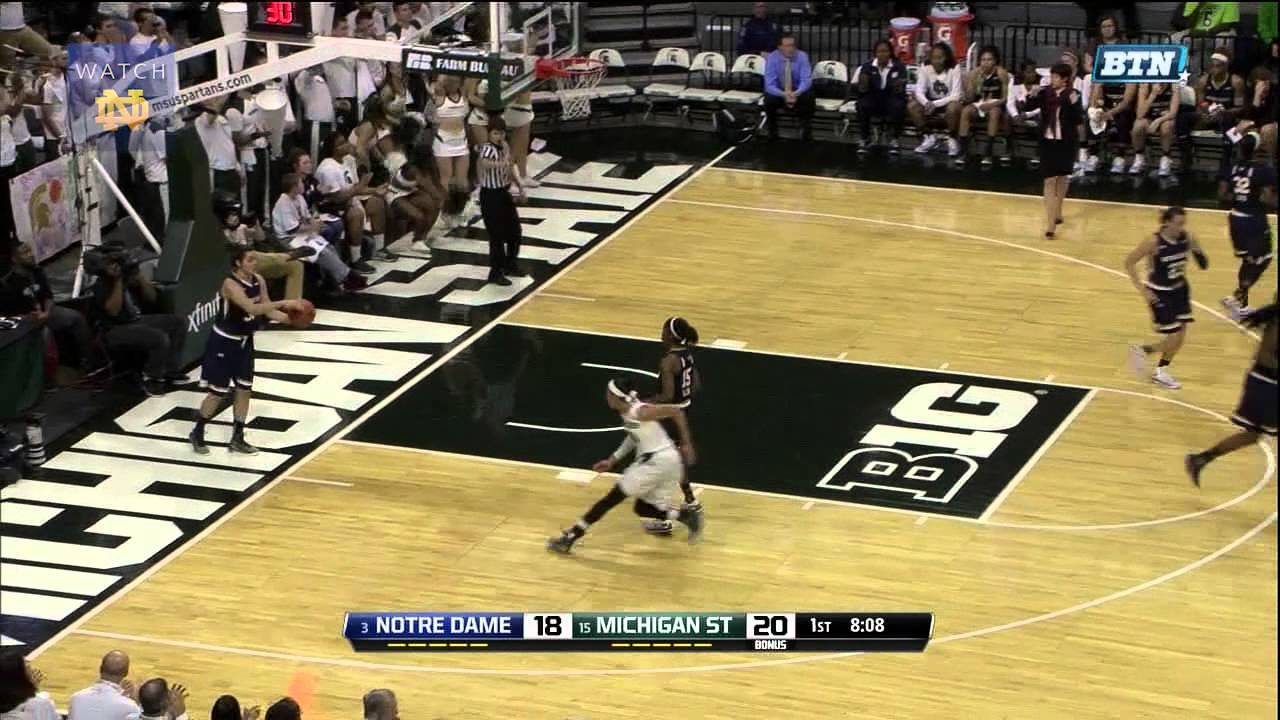 WBB vs. Michigan State Highlights