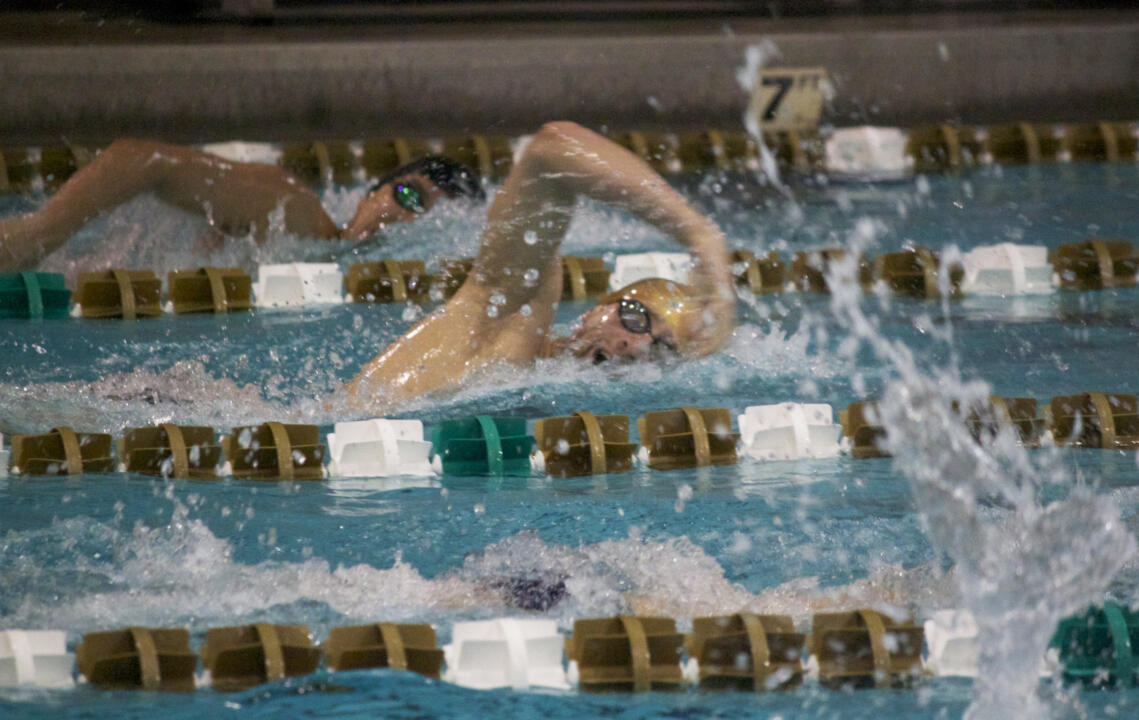 Senior Jonathan Williamson is one of many Irish swimmers competing this weekend in Iowa City.