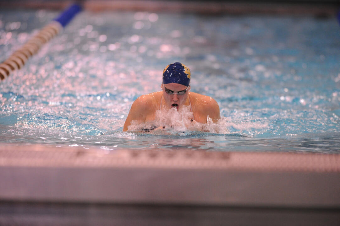 Senior Emma Reaney won a silver medal in the 200m medley relay and qualified for the finals in the 50m breaststroke during her time in Qatar at the FINA Short Course World Championships.