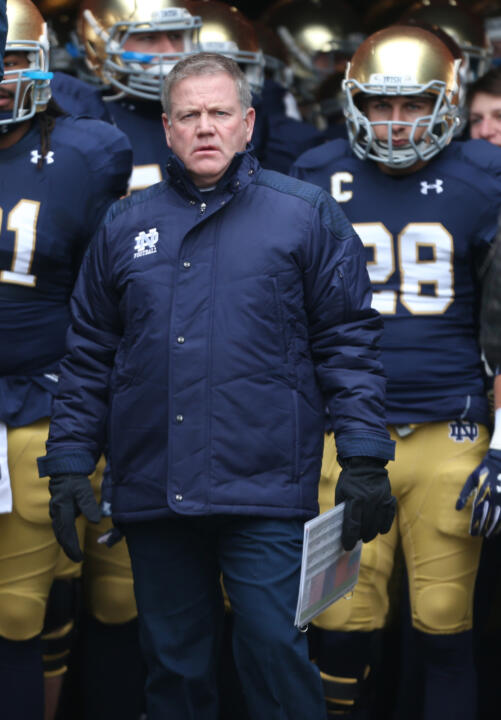 Irish head coach Brian Kelly has led Notre Dame to a bowl appearance in each of his five seasons.