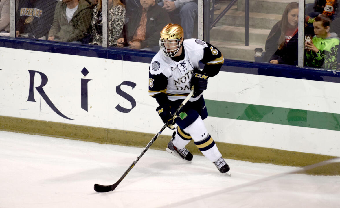 Junior defenseman Andy Ryan leads Hockey East in blocked shots with 31 after 16 games.