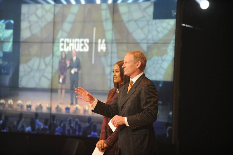 Mike Mayock and Skylar Diggins co-hosted the ECHOES.