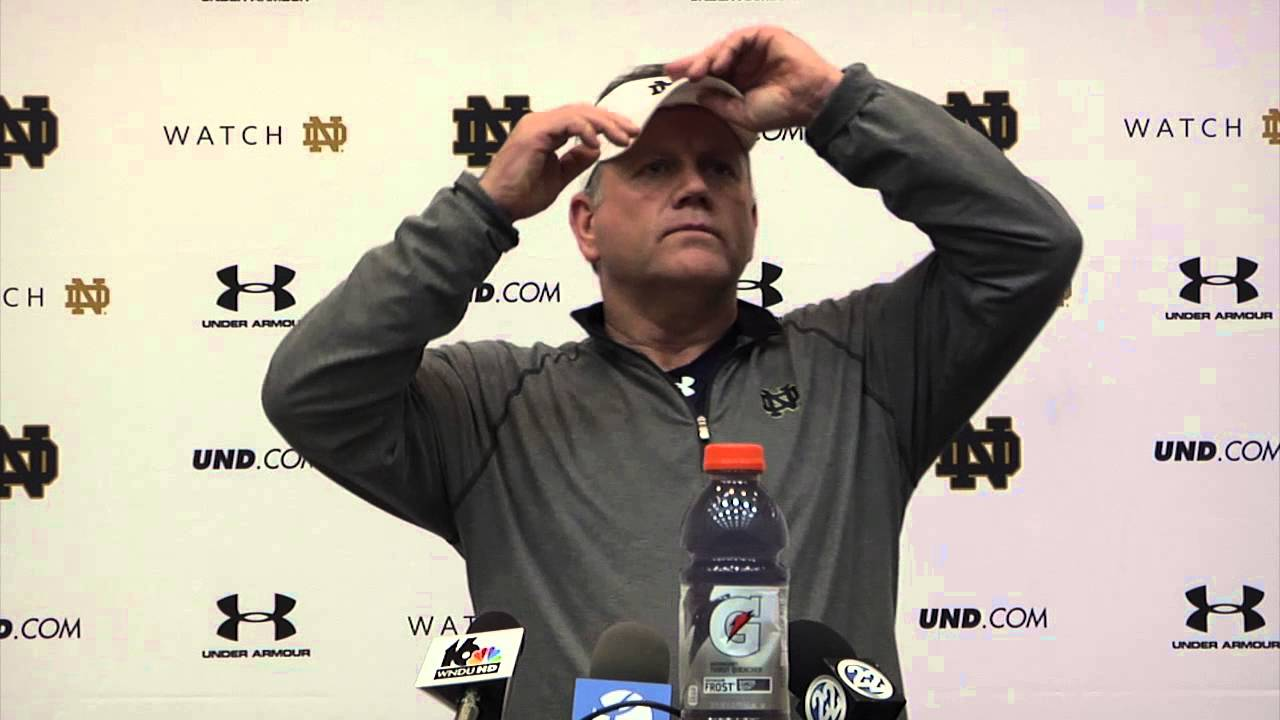 Coach Kelly Press Conference - December 15th
