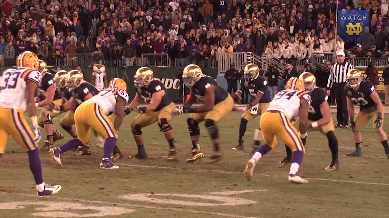 Irish Connection - ND Follows Plan Vs. LSU
