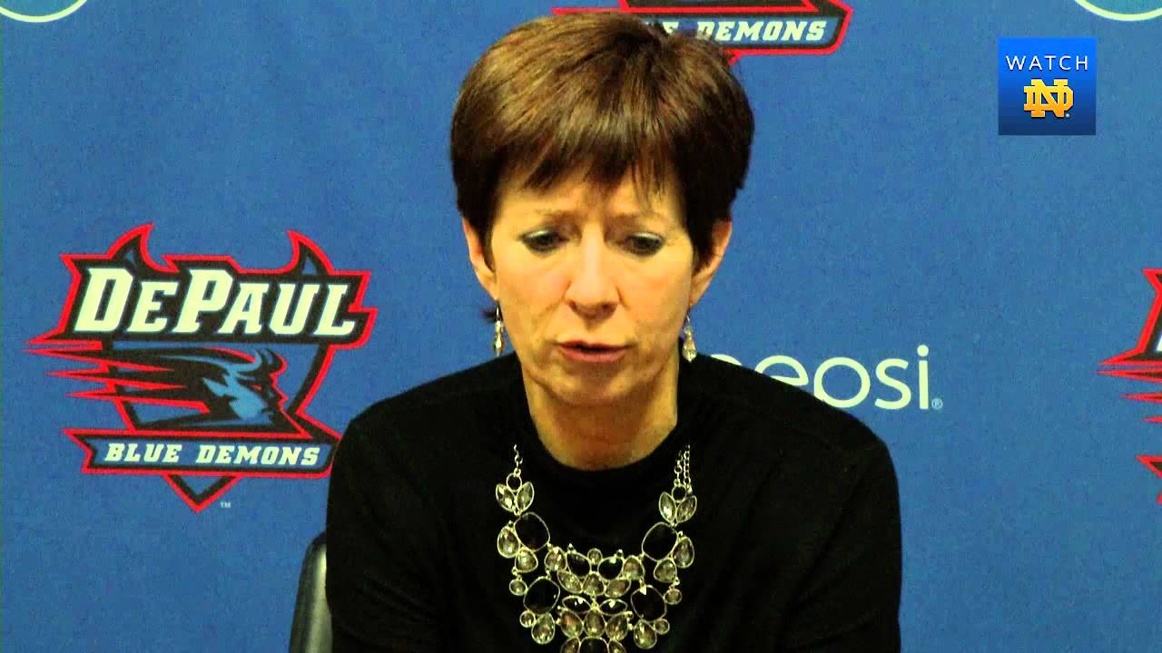 WBB - DePaul Post Game Press Conference