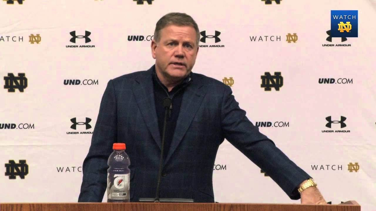 Coach Kelly Bowl Announcement Press Conference