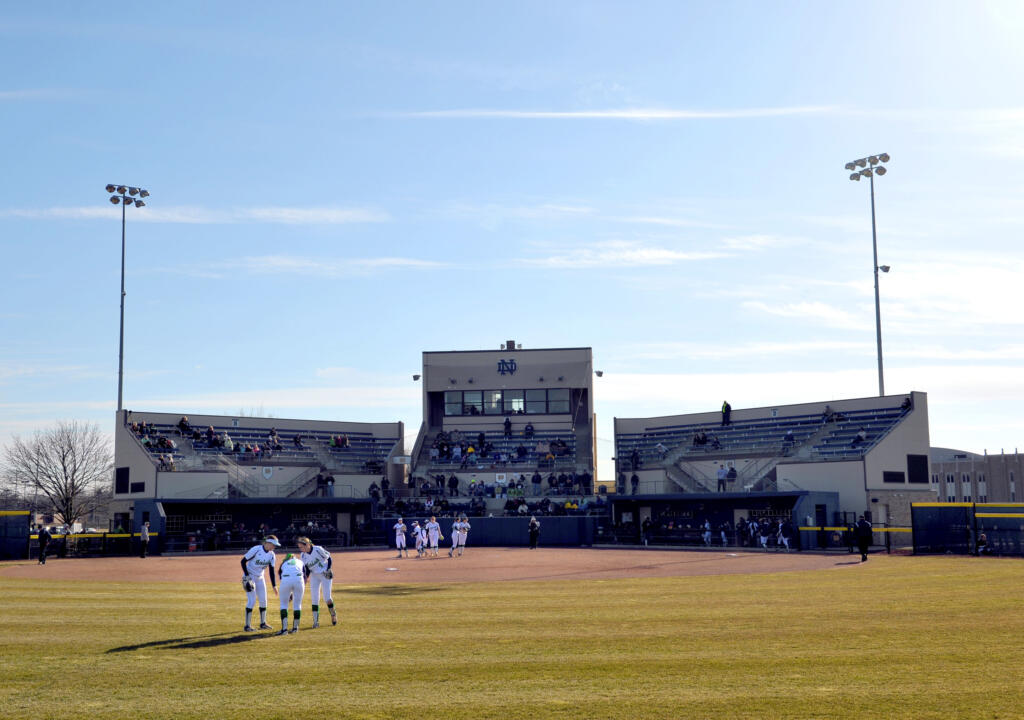 Melissa Cook Stadium is scheduled to host 21 Notre Dame softball home games in 2015