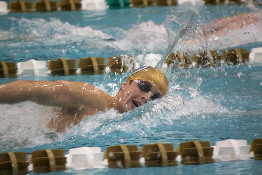 On a day filled with tough swims, James McEldrew had one of the few top-3 swims for the Irish.