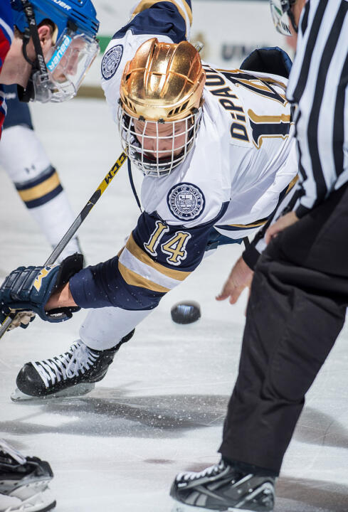 Thomas DiPauli has been a part of Notre Dame's recent power play resurgence.