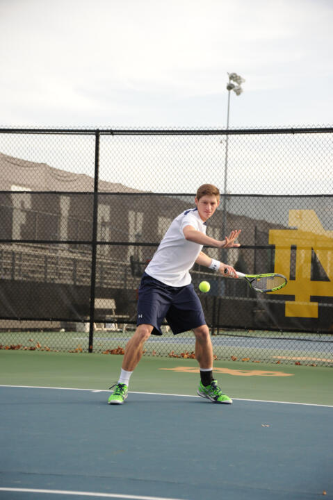 Alex Lawson and the Irish are primed to welcome four teams in the ITA Top 25 for the ITA Kick-Off Weekend this Saturday and Sunday at the Eck Tennis Pavilion.