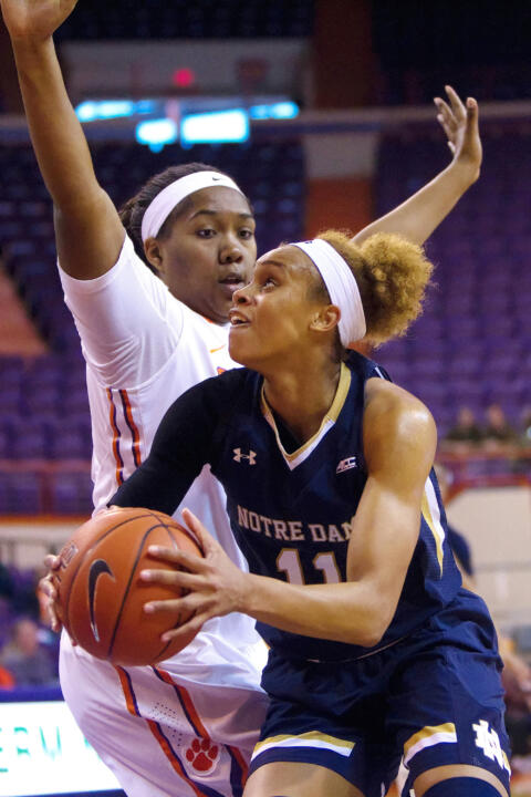 Notre Dame forward Brianna Turner tied the school record with her sixth ACC Freshman of the Week award on Monday after averaging 14.0 points 5.7 rebounds and 2.3 blocks per game with a double-double and a .680 field-goal percentage in three wins last week.