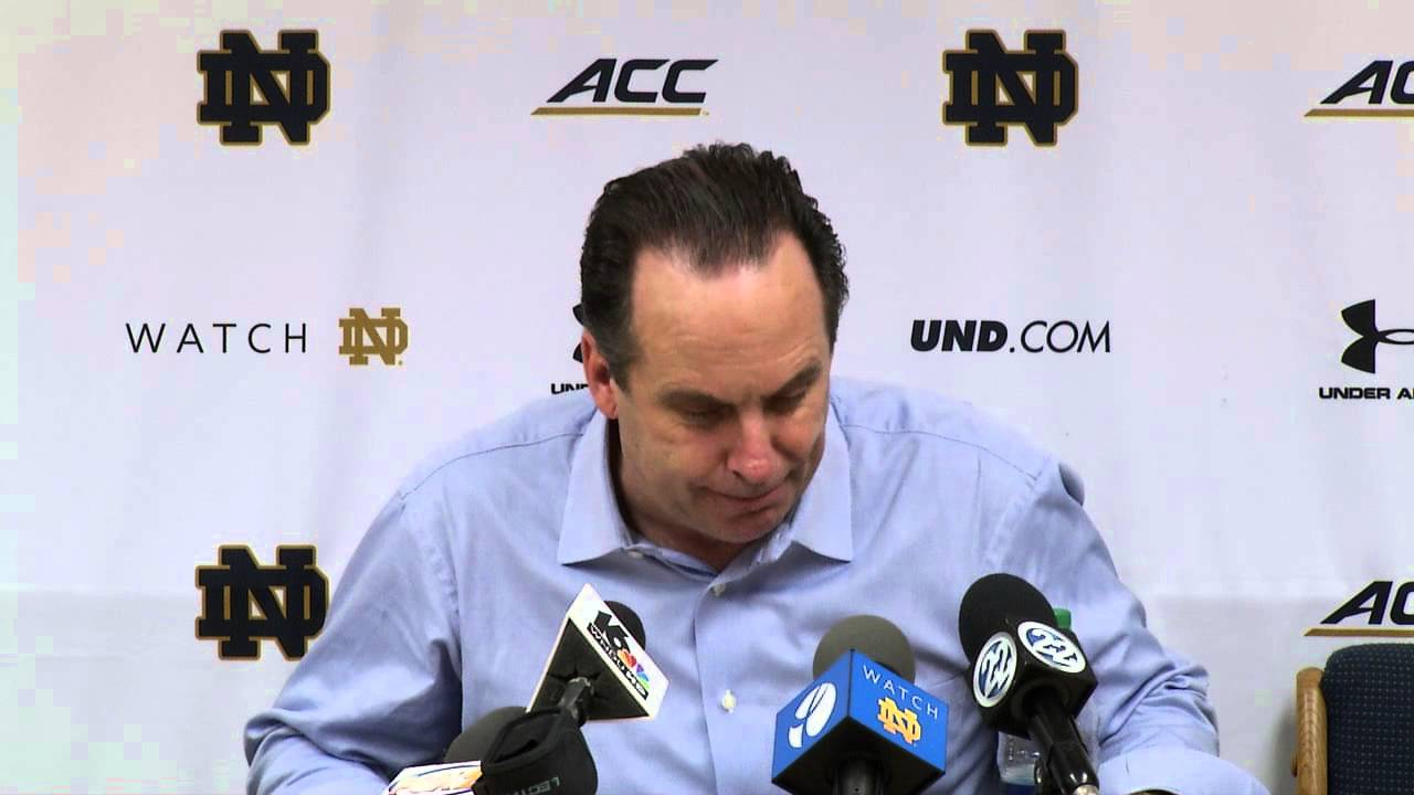 Coach Brey Miami Post Game Press Conference