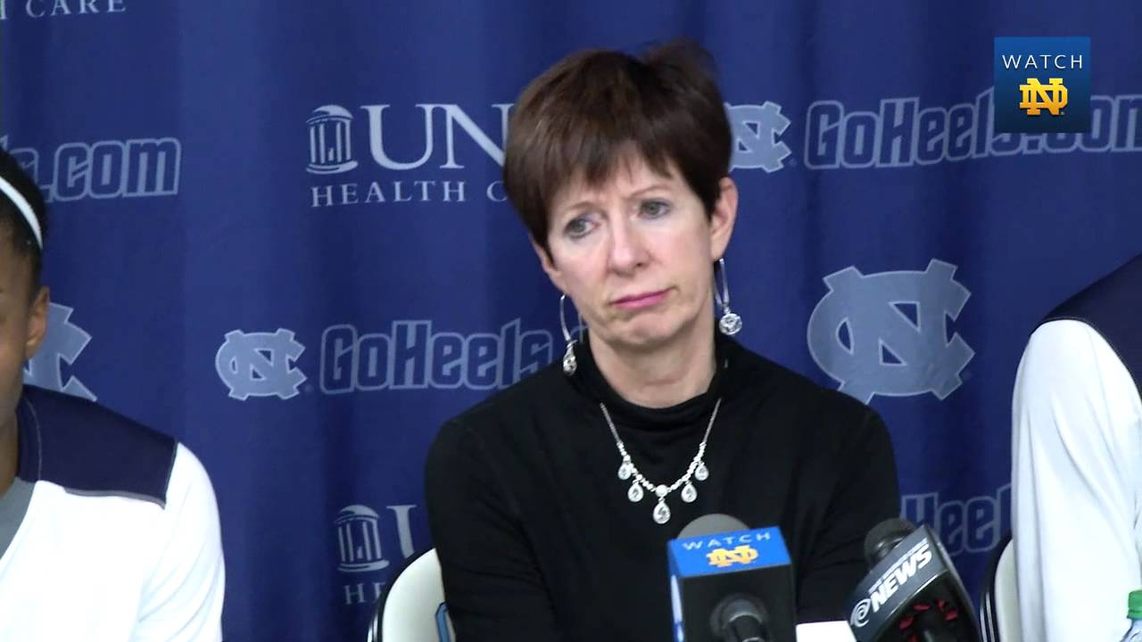 WBB - North Carolina Post Game Press Conference
