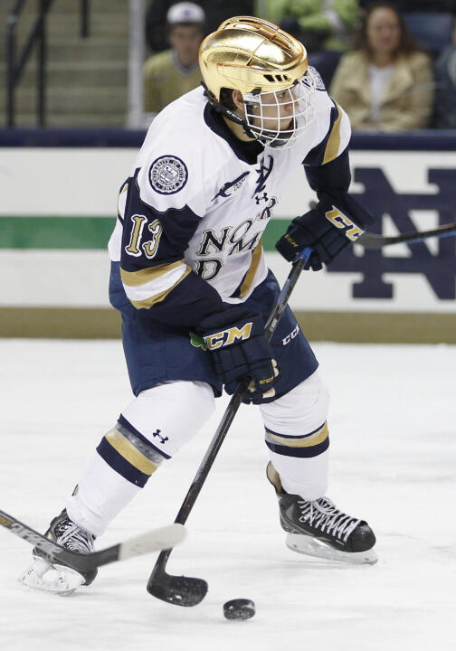 Vince Hinostroza had his second three-assist game of the year on Friday night at Maine.