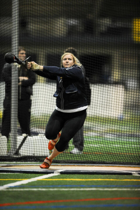 Senior thrower Emily Morris' faith has shaped her time at Notre Dame both in the athletic arena and out.