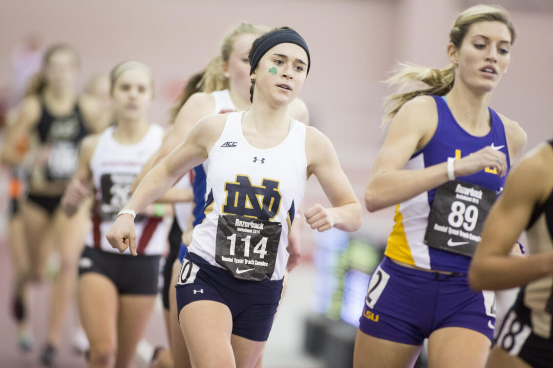 Molly Seidel claimed her first ACC title in the 5,000 meters on Friday at the conference indoor championships.