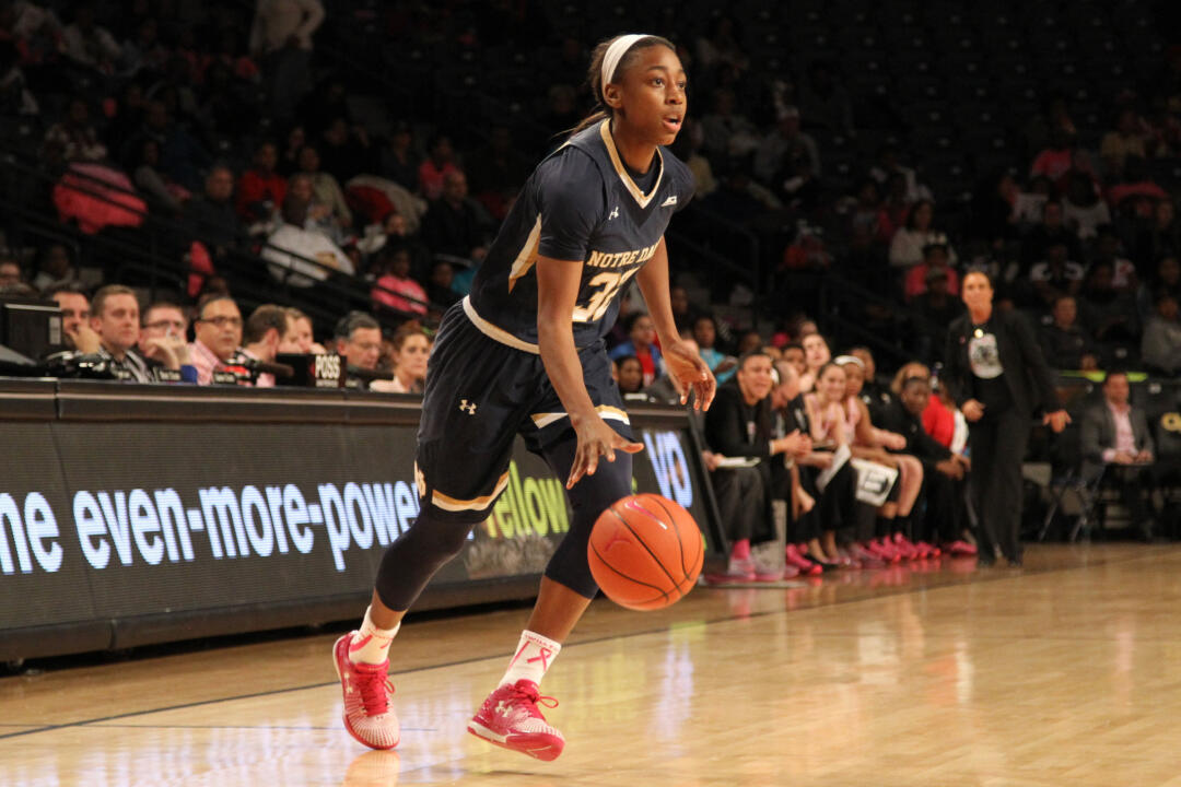 Notre Dame junior guard Jewell Loyd tied a school record with her fourth ACC Player of the Week award this season, earning her latest honor Monday after averaging 26.0 points, 5.5 rebounds and 3.5 assists per game last week.