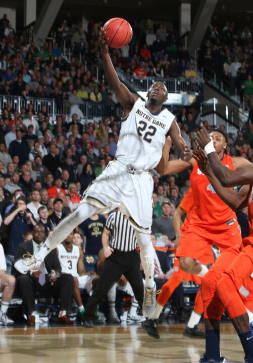 Jerian Grant has led the Irish in scoring 14 times this season and on 45 occasions during his career.