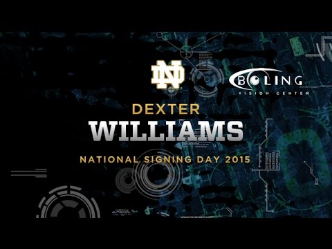 Dexter Williams - 2015 Notre Dame Football Signee