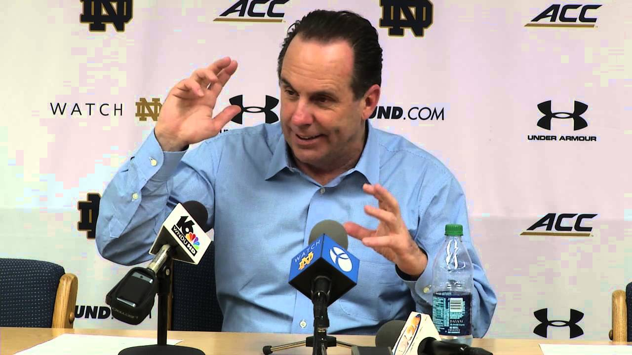 Coach Brey Syracuse Post Game Press Conference