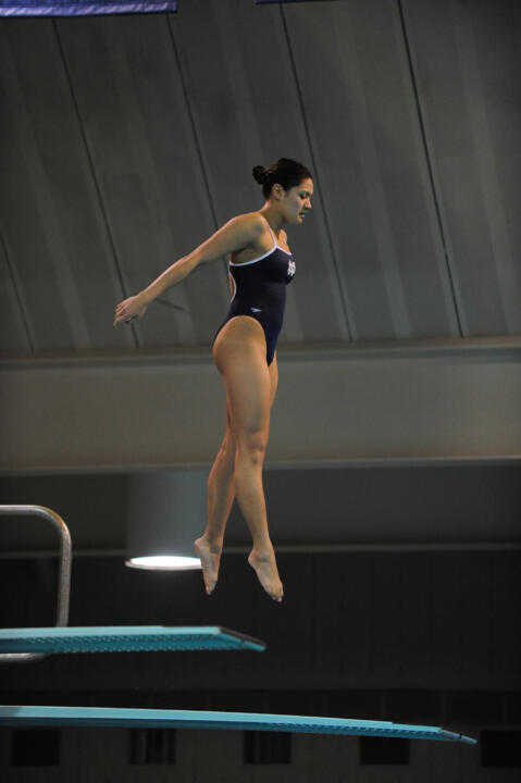 Senior Allison Casareto will compete on both the 1- and 3-meter boards at the NCAA meet next weekend.