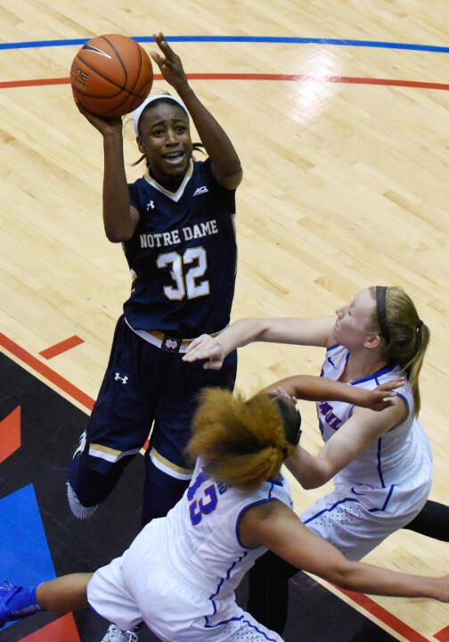 Jewell Loyd tied a school record with 41 points against DePaul in December.