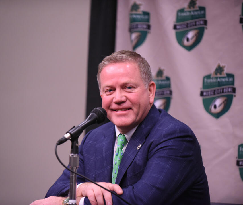 Brian Kelly and his entire staff will also give presentations at the clinic, which is scheduled for March 26-28.