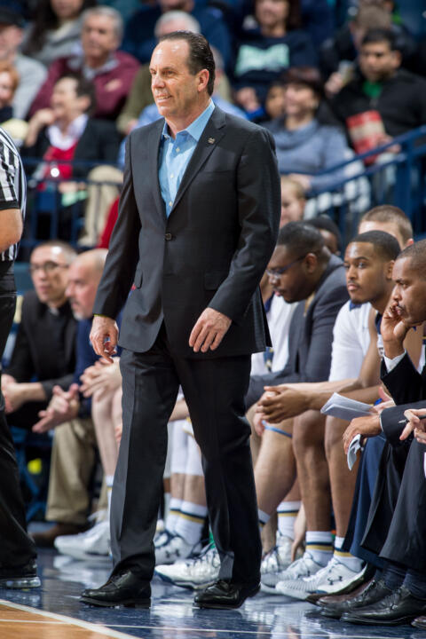 Head coach Mike Brey has guided Notre Dame to a 6-2 road record in ACC play this season. The six victories are the most conference road wins ever for the Fighting Irish in a single campaign.