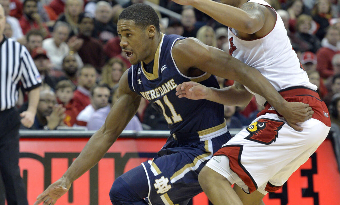 Demetrius Jackson scored 21 points versus Louisville.
