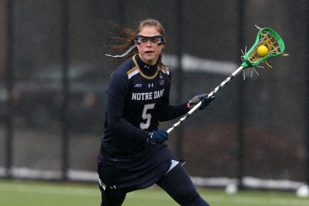 Rachel Sexton netted a hat trick for the Irish on Saturday