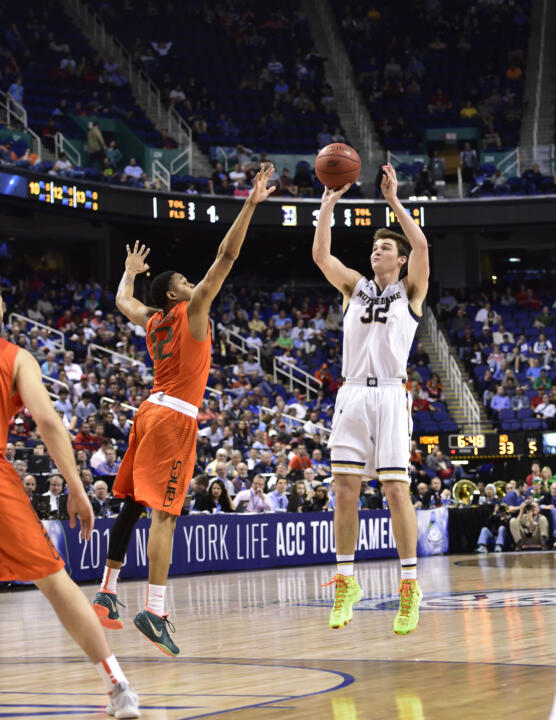 Steve Vasturia averaged 13.0 points per game in the ACC Tournament. Vasturia has scored in double-figures nine times in the last 12 games.