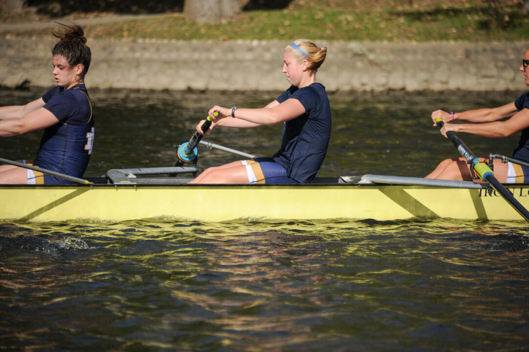 No. 14 Notre Dame makes its first appearance at the Big Ten/ACC Double Dual this weekend at Griggs Reservoir in Columbus, Ohio