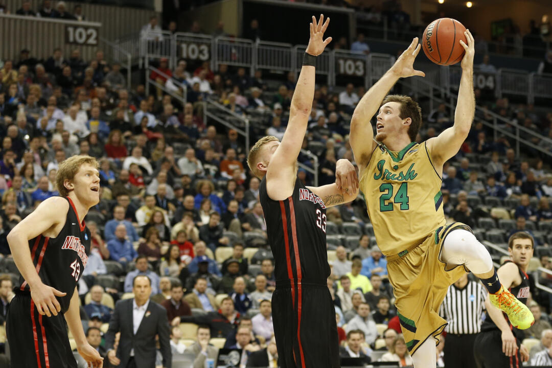 Saturday against Butler, Pat Connaughton became Notre Dame's all-time leader in games played. The Fighting Irish captain has competed in all 137 contests during his career.